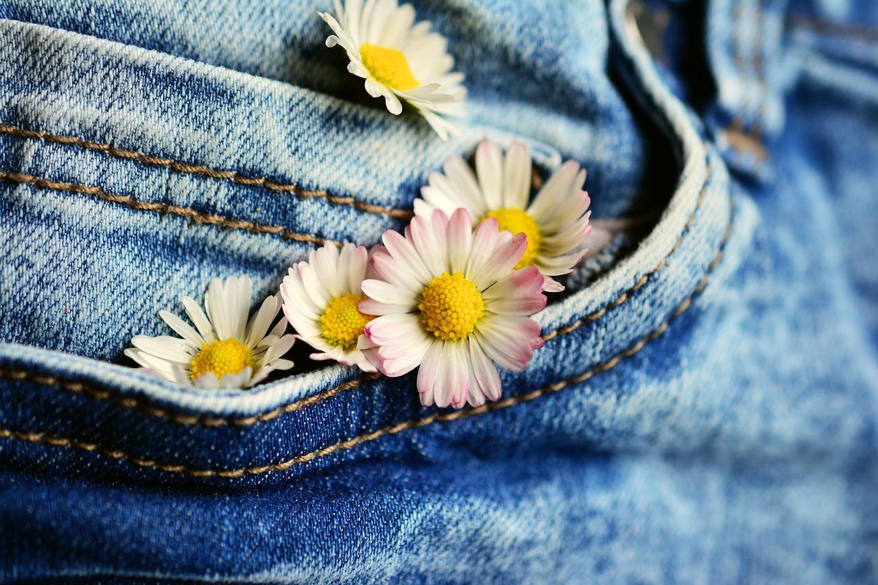 Jeans är alltid trendigt